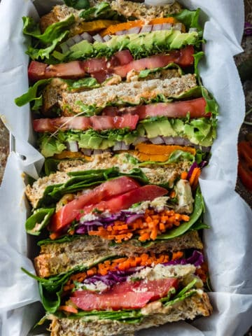 Vegan Dagwood Sandwich